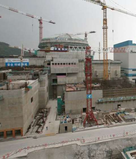 Centrale Nucléaire Guangdong, CHINE